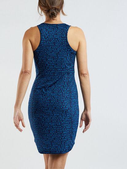Alpha Racerback Dress - Batik Dot: Image 4