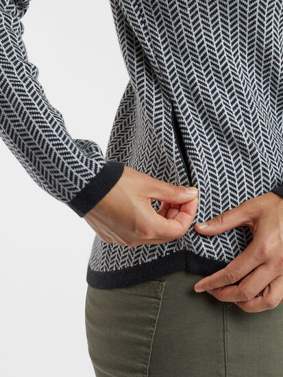 Barra Sweater - Herringbone: Image 4