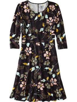 Dream 3/4 Sleeve Dress - Wild Juniper