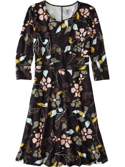 Dream 3/4 Sleeve Dress - Wild Juniper: Image 1