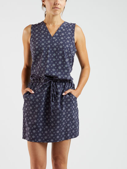 Crusher Cinched Waist Dress: Image 3