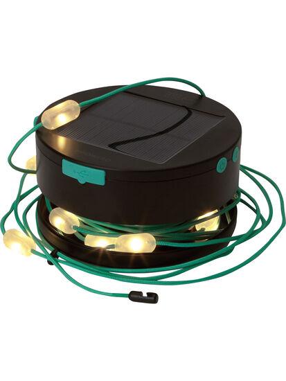 Light It Up Solar String Lights: Variant Image Blue