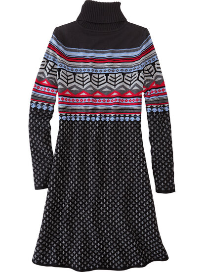 Rhonda's Turtleneck Sweater Dress: Image 2