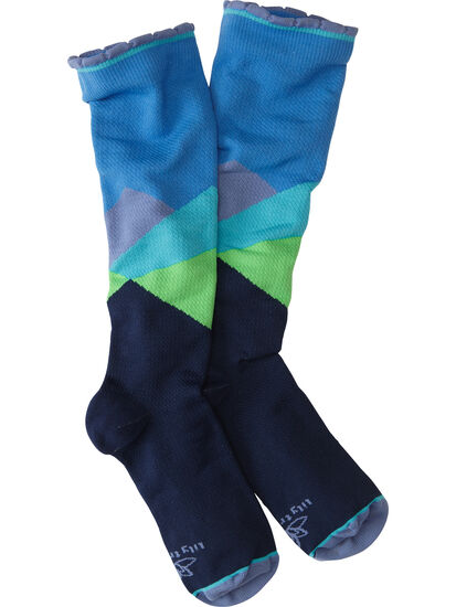 On The Trot Compression Socks - Over-the-moon: Image 1