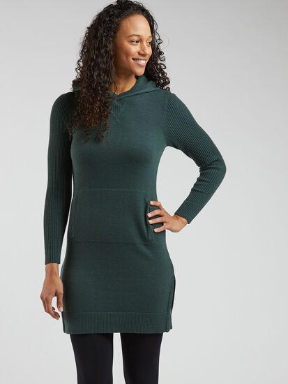 Impulse Hoodie Sweater Dress: Image 3