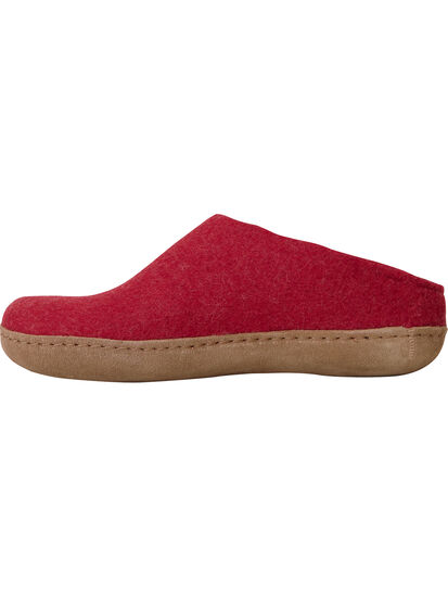 Gotland Felted Wool Slippers: Image 3