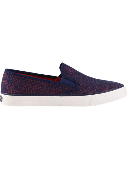 Pier Slip On Canvas Sneakers: Image 2