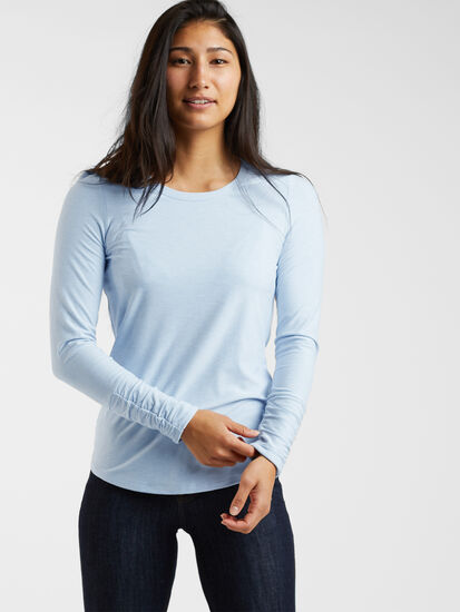 Grace 2.0 Long Sleeve - Solid: Model Image