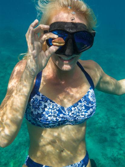 Pele Bikini Top - Feeling Blue