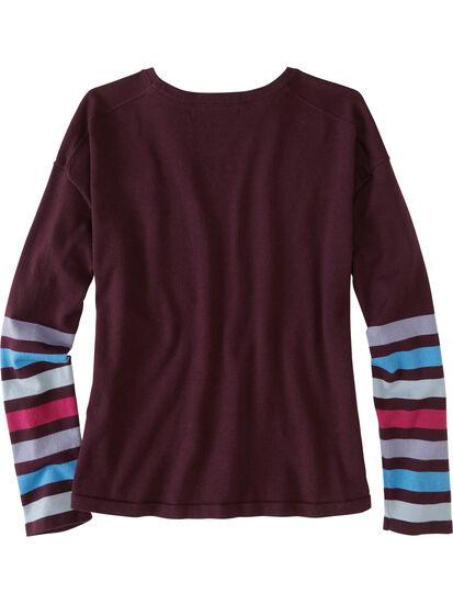 Synergy Crew Neck Sweater - Sleeve Stripe: Image 2