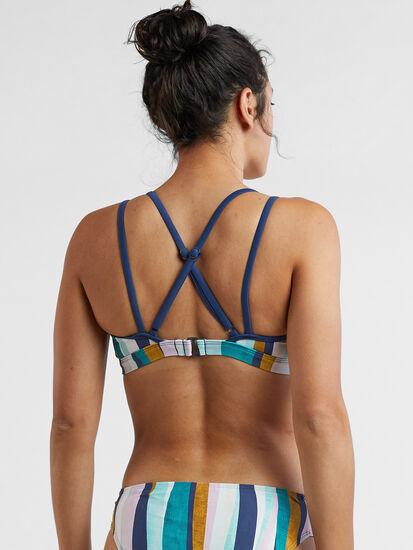 Mirage Bikini Top - Broken Stripes, , original