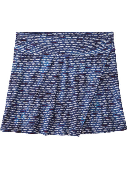Aquamini Skirt - Shibori Mini: Image 1