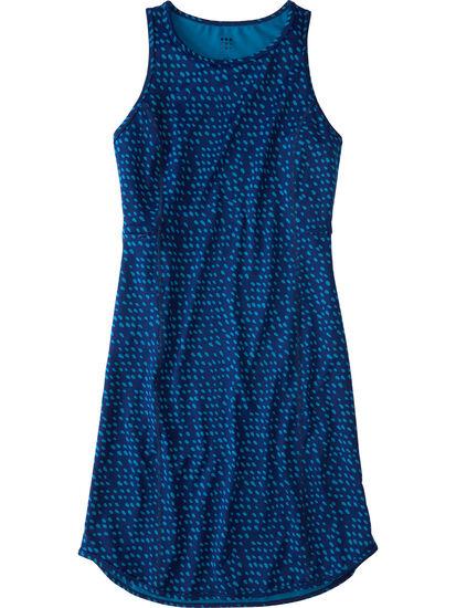 Alpha Racerback Dress - Batik Dot: Image 1