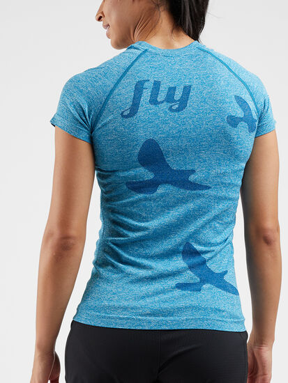 Wings Out Short Sleeve Top: Image 3