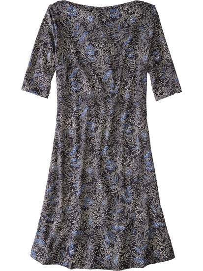 Buttah Boatneck Dress - Majorelle: Image 2