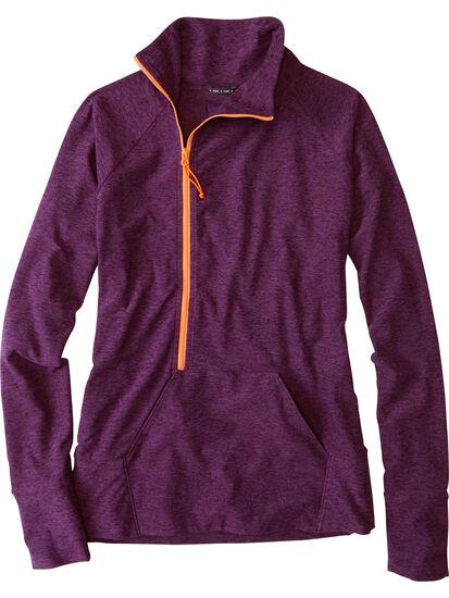 Magic Mile 1/2 Zip Long Sleeve Top: Image 1