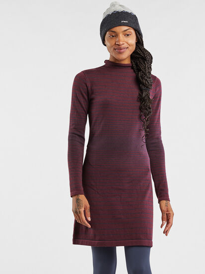 Synergy Mockneck Sweater Dress: Image 3