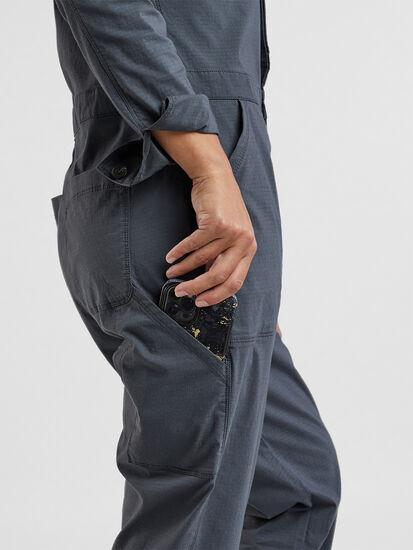 Rosie Utility Long Sleeve Jumpsuit: Image 3
