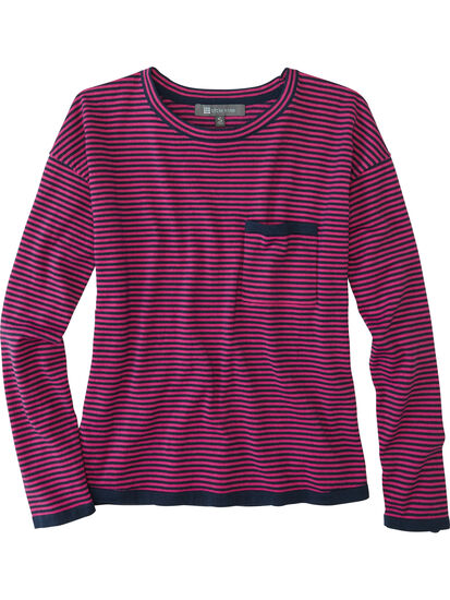 Synergy Crew Neck Sweater - Stripe: Image 1