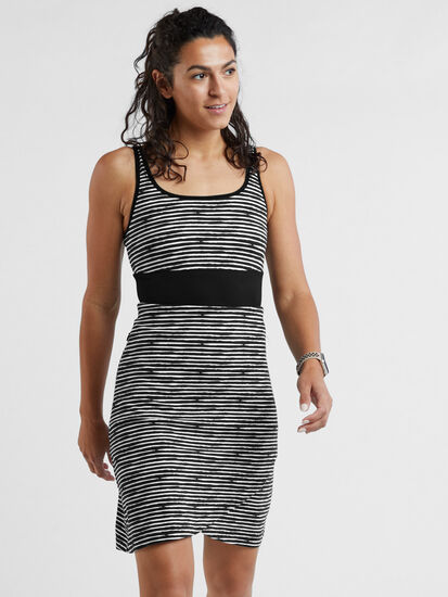 Connelly Dress - Painted Stripe