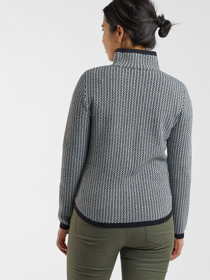Barra Sweater - Herringbone: Image 3