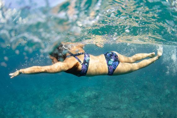 Amazonia Print Swim