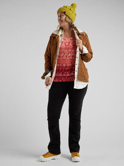 Clara Kent Corduroy Pants - Straight: Image 4