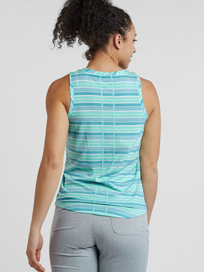 Vibe Tank Top - Rugby Stripe: Image 4