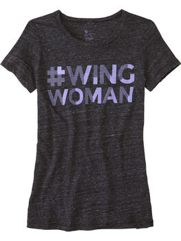 Power of 9 Tee - Wing Woman