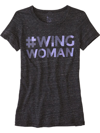Power of 9 Tee - Wing Woman: Image 1