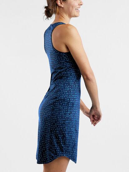 Alpha Racerback Dress - Batik Dot: Image 5
