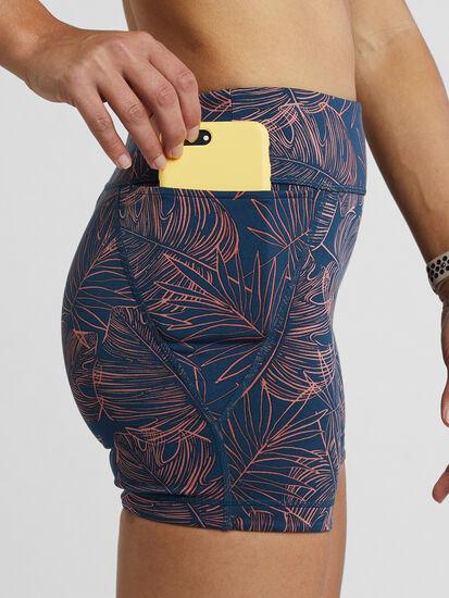 """Mad Dash reversible Shorts 4"""" - Aloha: Image 3"""