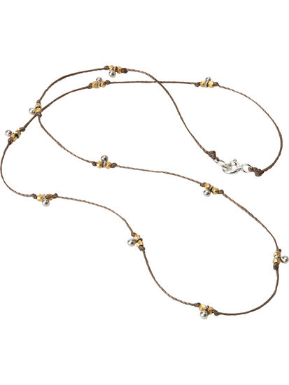 Single Track Necklace: Image 1