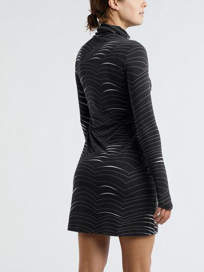Getaway Long Sleeve Turtleneck Dress - Double Dutch: Image 4