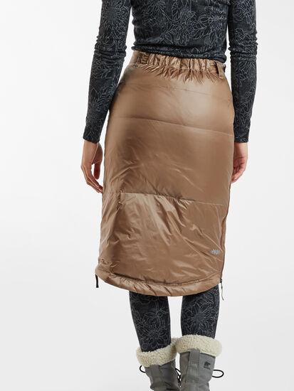Bun Warmer Midi Skirt: Image 3