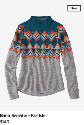 shop barra sweater fair isle