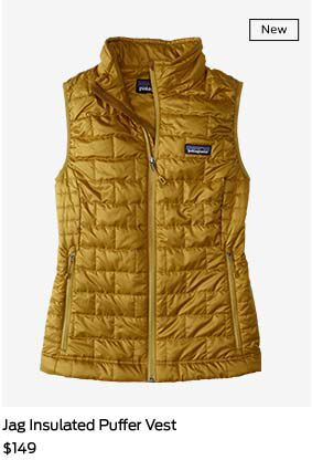 shop jag insulated puffer vest