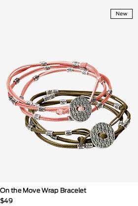 shop on the move bracelet
