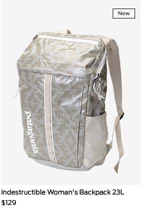 shop indestructible women's backpack 23L