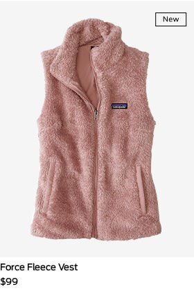 shop force fleece vest