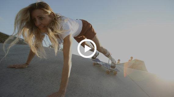 Skatepark shredding