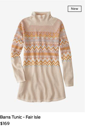 Shop  Barra Tunic in Fair Isle