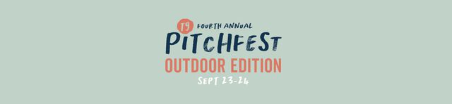pitchfest outdoor edition banner