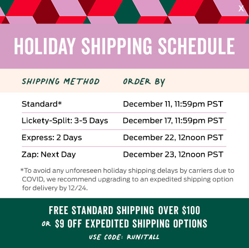 title nine holiday shipping schedule