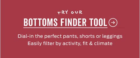 Women's Outdoor Pants Finder